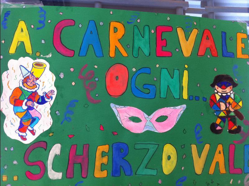 Carnevale al san carlo segni di segni for Cartelloni di carnevale scuola primaria