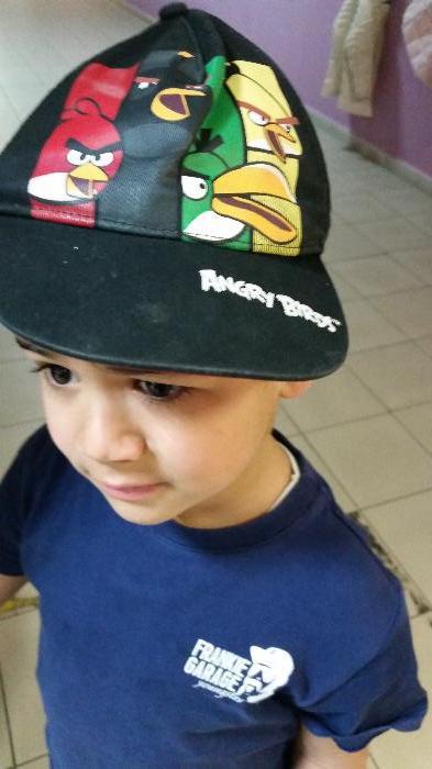 Per l occasione Marco I. sfoggia il cappellino di Angry birds 627852e150f9